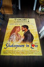 Shakespeare In Love 4x6 ft Vintage French Grande Movie Poster Original 1999