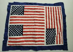 Tommy Hilfiger Heavyweight American Flag Pillow Case