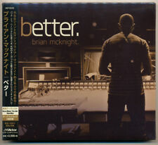 Brian McKnight - Better +2 Bonus Tr. / Japan CD Digipak Ed. / NEW! Still sealed!
