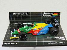 Benetton Ford B188 T. Boutsen 1988 Edition 43 Nr.2 Minichamps Nr. 400880020