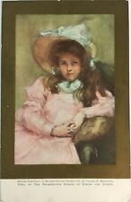 Portrait Postcard 1900s, by Isabel P. Branson, Pupil of Philadelphia #B41q