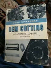 Gem cutting a lapidary's manual by John Sinkankas