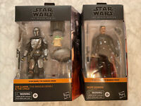 Star Wars Black Series Din Djarin (The Mandalorian) & The Child vs Moff Gideon