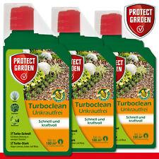 Protect Garden 3 x 1000 ML Turboclean Exempt de Mauvaises Herbes Concentré