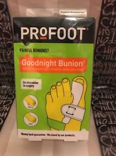 PRoFOOT Goodnight Bunion # 1668 Gently Realigns Tight Tendons While Your Sleep
