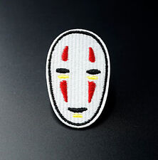 No Face Spirited Away Studio Ghibli Embroidered Patch Applique Iron On / Sew On
