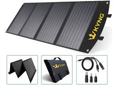 KYNG 120W Portable Solar Panel Foldable Charger 18V with 3 USB Ports