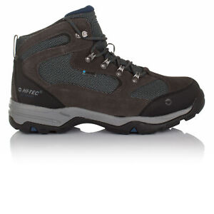 Hi-Tec Mens Storm Wp Walking Hiking Mountain Outdoors Boots Grey