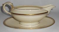 Eschenbach China Bavaria Porcelain A2185 Black/Gold Bands Gravy Bowl
