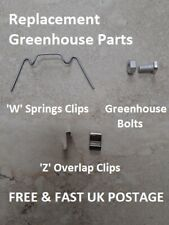 GREENHOUSE Clips & Bolts - Replacement Repair - Choose Type & Qty - SPARE PARTS