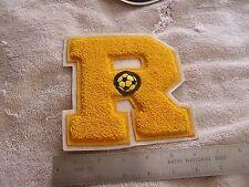 "Letterman's Jacket Patch ""R"" Soccer Ball   Lettermen's"