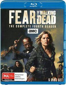 Fear the Walking Dead The Complete Fourth Season 4 Series Four Box Set Blu-ray