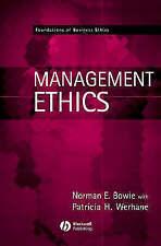 Management Ethics (Wiley Desktop Editions), Acceptable, Norman E. Bowie, Patrici