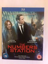 the numbers station blu ray dvd new and sealed dvd brand new item.  cert 15