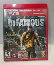 PS3 Game InFamous Greatest Hits Free Shipping Complete
