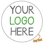 LOGO Printed Round Stickers Custom Logo labels postage label Personalised -887
