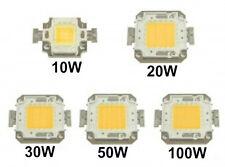 CHIP LED 10W/20W/30W/50W/100W BIANCO FREDDO/BIANCO CALDO RICAMBIO FARO A LED