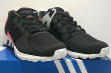 Adidas Mens Size 10 EQT Support Refine Black Athletic Running Shoes Sneakers New