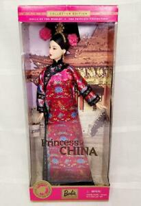 PRINCESS OF CHINA Barbie DOLLS OF THE WORLD DOTW NRFB 2001 #53368