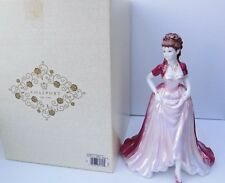 COALPORT FIGURINE JOANNE LIMITED EDITION WITH BOX & CERTIFICATE