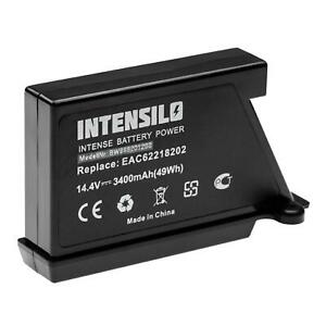 Bateria 3400mAh para LG Hombot VR6260LV,VR6260,VR6270LVB,VR6270LVMB