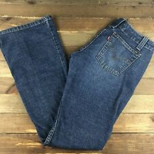 Levi's 520 Women's Too Superlow Stretch Jeans Size 3 JR (28x32) Medium Wash Low