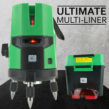 NEW TRADE SERIES Self Leveling Cross Line Laser Level Rotating Rotary Leveling