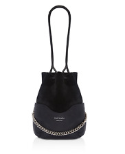MELI MELO  HETTY  Leather Bucket Cross Body Bag MSRP $ 535 made in ITALY