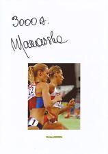 Wioletta Janowska  Polen  Leichtathletik   Karte signiert WL 347125