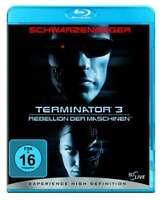TERMINATOR 3 III Arnold Schwarzenegger REBELLION DER MASCHINEN BLU-RAY Neu