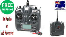 Turnigy 9X 9CH Transmitter w/ Module & iA8 Receiver Mode1 2.4GHZ Very Long range