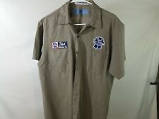 Used Large Pabst Beer Work Shirt (186)