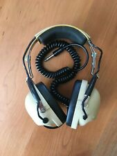 David Clark Model 200 Wired Stereo Headphones vintage 1970s