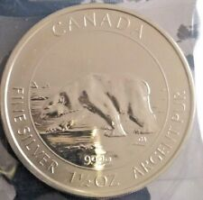 CANADA 1,5 Oz 8 dollars 2013 Ours polaire argent 999.9  ( 46.6 g ) spl