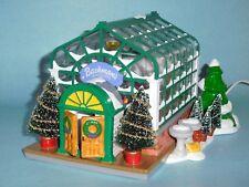 SECRECT GARDEN GREENHOUSE - Department 56 Snow Village - 1998 Bachman's Ltd. Ver