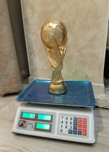 World Cup Mundial Soccer / Football Big Trophy Replica 330mm/13inch 1920g/4.23lb