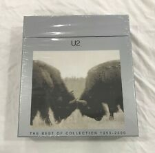"U2 The Best of Collection 1990–2000 MINT SEALED Promo 15x7"" Vinyl + 2CD Box Set"