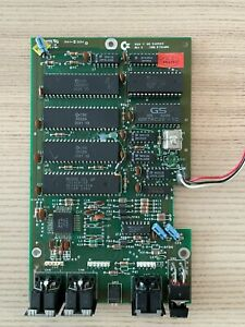 Commodore 1541-II Disk Drive PCB, Electronic Board, Working, with LED and Chips