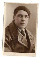 photo carte postale   jeune homme  (1016f)