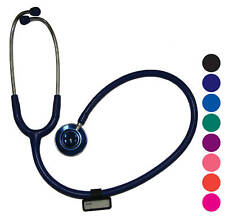 STETHOSCOPE LUXURY DOCTORS DUAL HEAD 76.2CM BLACK LIGHTWEIGHT LIBERTY