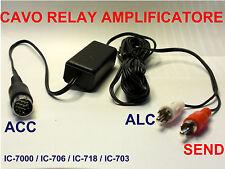 IC-706 / IC-7000 / IC-718  / IC-703 CAVO RELAY AMPLIFICATORE - ISOLATO NEW