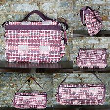 Roxy Pink Polka new Backpack/Rucksack/Side bag great for School,College,Work