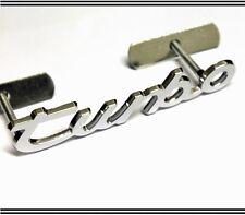 Turbo parrilla insignia emblema del coche de la rejilla de metal Vw Seat Audi Peugeot Porsche Estilo 24g