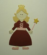 PRINCESS MAIDEN PAPER DOLL DIE CUT ~ QUICKUTZ LIFESTYLE CRAFTS ~ ASSEMBLED
