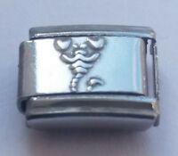 SCORPION SCORPIO Starsign 9mm Italian Charm Fits Classic Bracelet Link