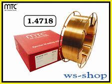 Hartauftragsdraht Schutzgas MIG MAG Schweissdraht 1.4718 Panzerdraht MT-600 HB