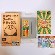 Star Hoshi no Kirby Super Deluxe Nintendo Super Famicom SFC SNES Japan Game