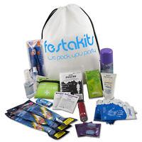 Festakits Essentials - 60 Piece Festival & Camping Survival Kit
