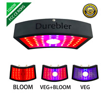 1000W led Grow Light Full Spectrum for Indoor Greenhouse Plants Double Chips Pan