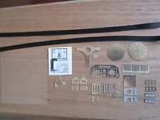 Pocher 1/8 Ferrari Testarossa Metal Transkit Upgrade Kit Interior Details